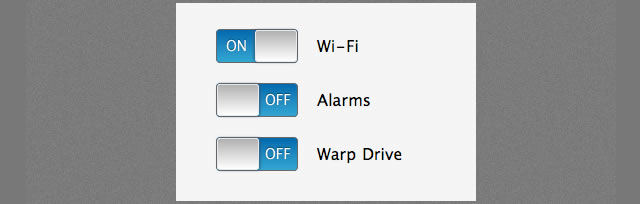 iPhone Style Checkboxes With CSS3