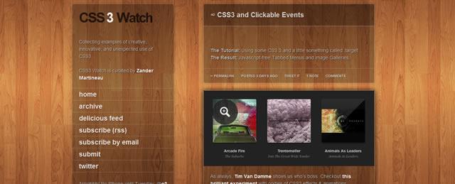 CSS3 Watch