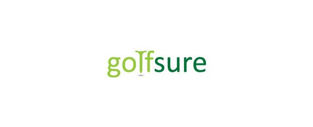 Golfsure Logo sport brand