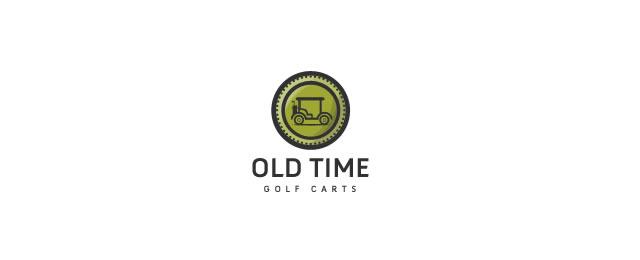 Old Time Logo sport brand