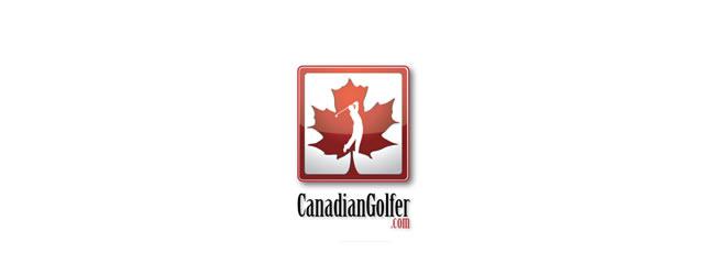 Canadian Golfer Logo sport brand