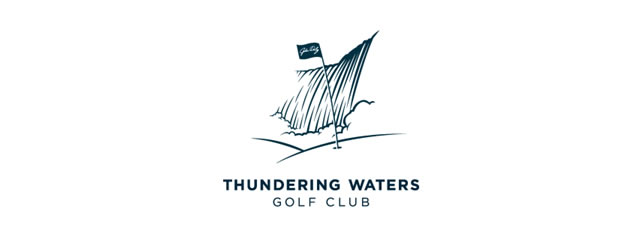 Thundering Waters Logo sport brand