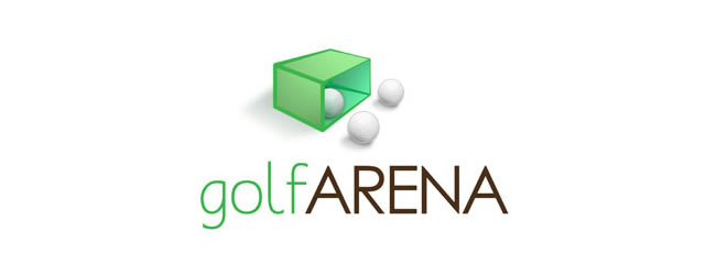 golfArena Logo sport brand