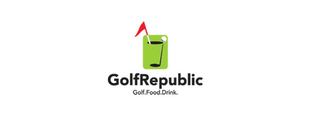 Golf Republic Logo sport brand