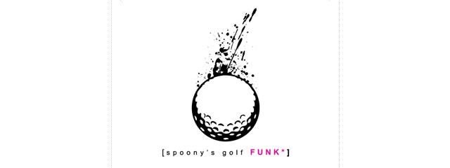 Golf Funk Logo sport brand