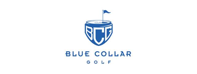 Blue Collar Golf Logo sport brand