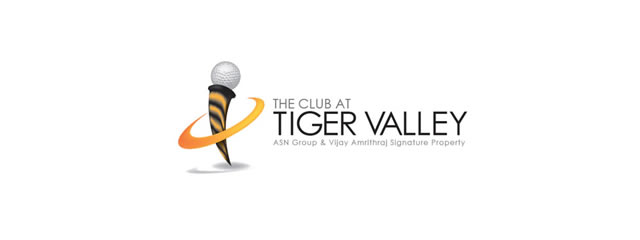 The Club at Tiger Valley Logo sport brand