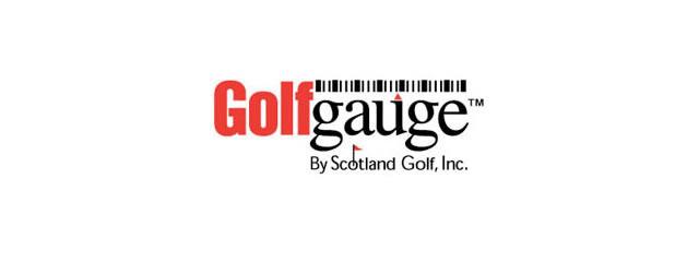 Golf Gauge Logo sport brand