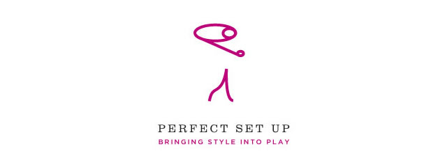 Perfect Set Up Logo sport brand
