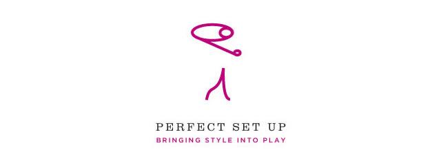Perfect Set Up Logo sport brand