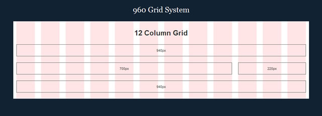 960 Grid System Illustrator Template .ai