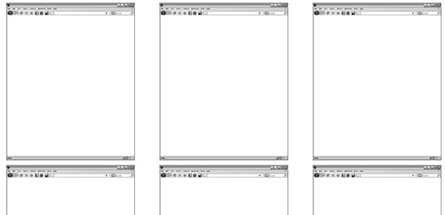 Web Application Storyboards .ai