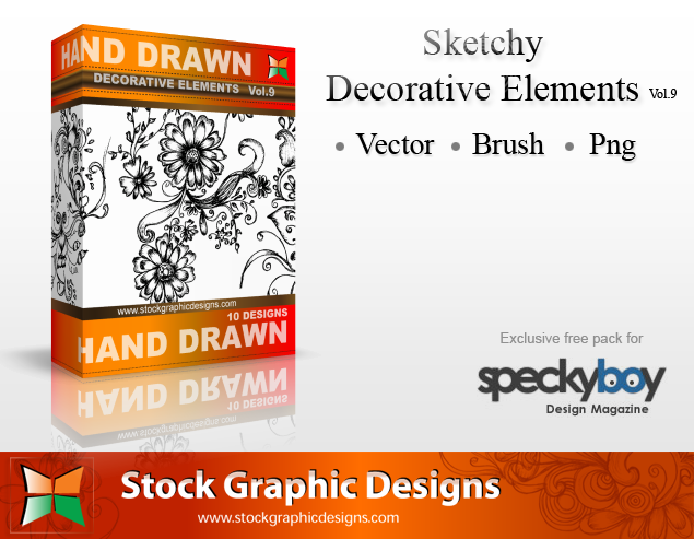 Vector Sketchy Decorative Elements