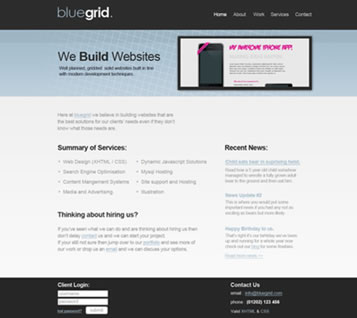 Clean Web Layout with the 960 Grid
