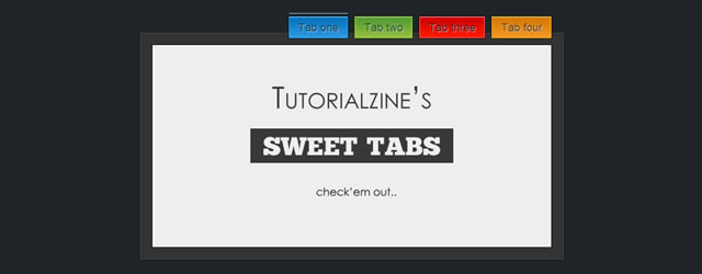 Sweet AJAX Tabs jQuery Plugin