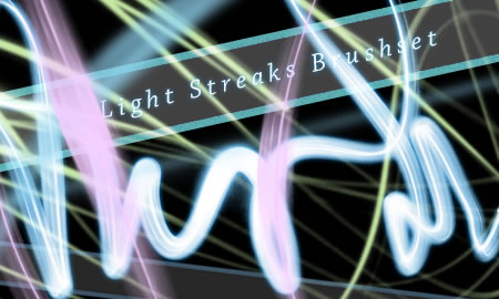Light Streaks Brushes 30 Brushes