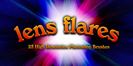 High Res More Lens Flares 25 Brushes
