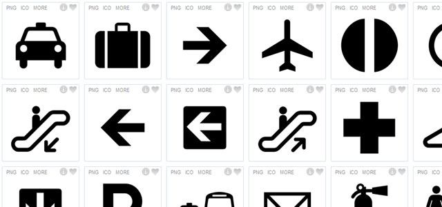 25 Free Pictogram And Symbols Sign Icon Sets