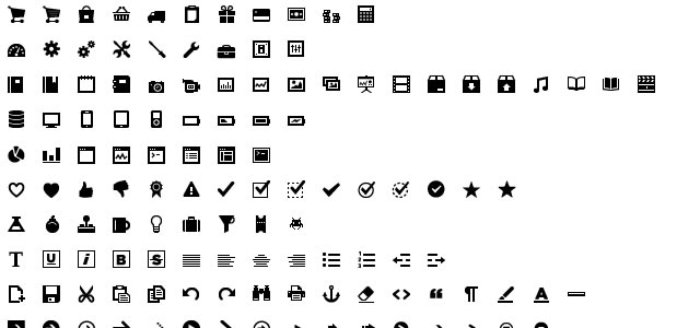 User Interface Design Framework Vectors Icons