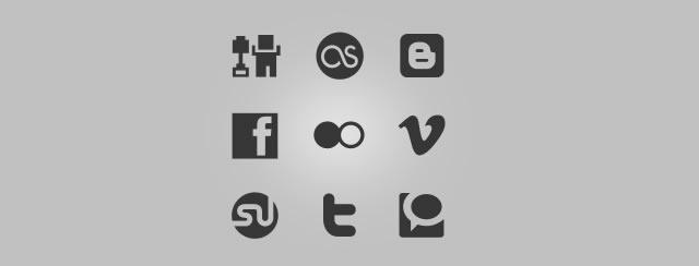 Helveticons Social Media Set