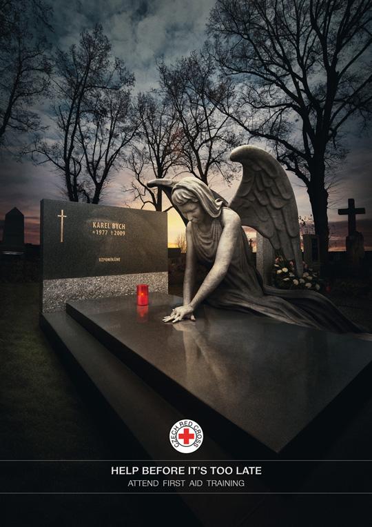 Print Ad - Graveyard