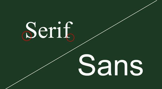 sans/serif