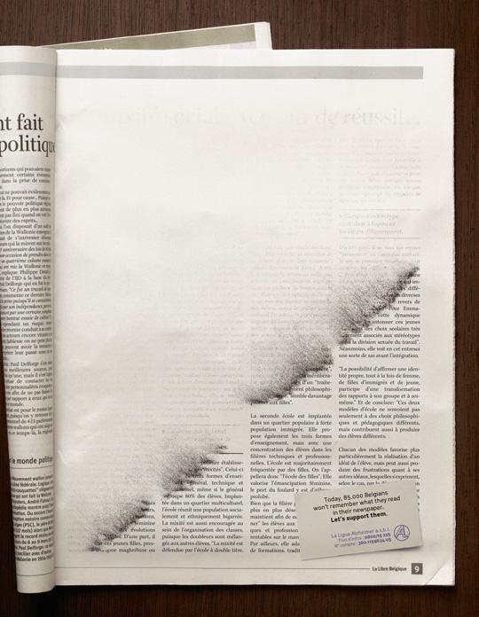 Print Ad - Erased News