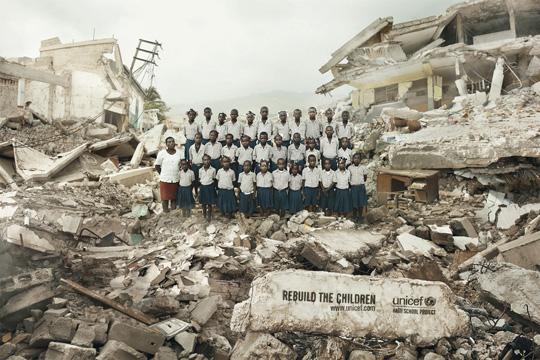 Print Ad - Haitian Children