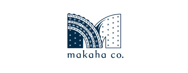 Makaha asian themed logo design branding oriental far-east
