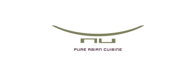 Pure Asian Cuisine asian themed logo design branding oriental far-east