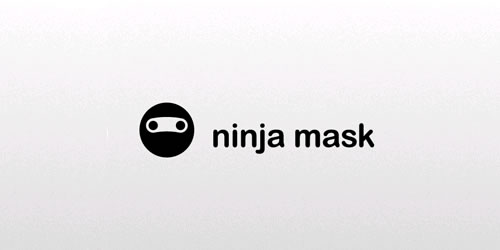 Ninja asian themed logo design branding oriental far-east