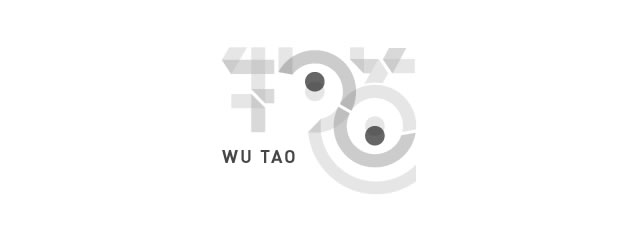 Wu Tao asian themed logo design branding oriental far-east