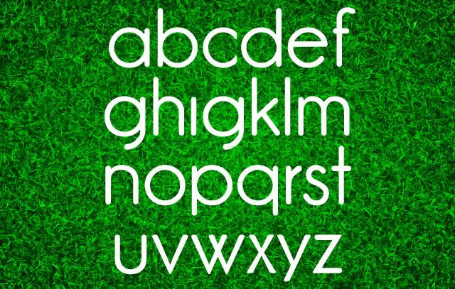 Freebie: GardenC Typeface