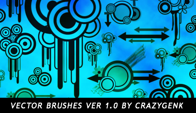 Freebie: Vector Brushes Ver. 1.0