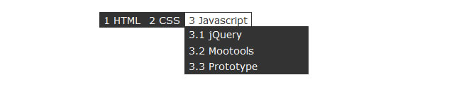 Multilevel Dropdown Menu with CSS and jQuery
