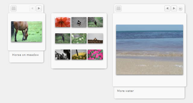 Micro Image Gallery jquery plugin gallery