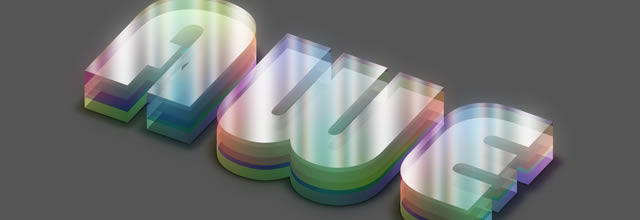 Colorful Plexi Text Effect