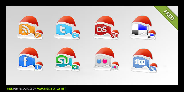 Christmas Icon Set from PSDFan