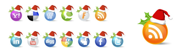 26 Free Christmas Social Media Icons