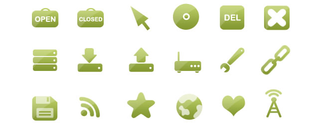 The Go Green! Icon Set