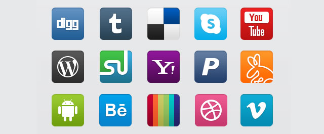 WPZOOM Social Networking Icon Set