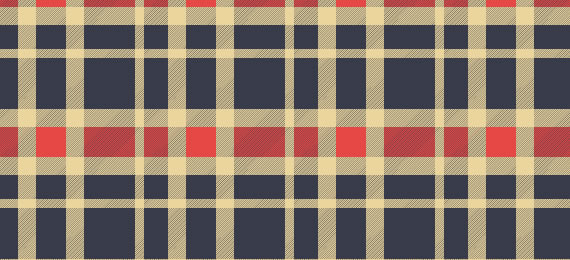 Woven Plaid Swatches- 25 Patterns (.ai)