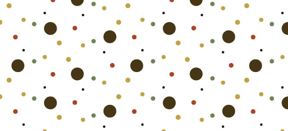 Polka Dot Pattern Swatches - 25 Patterns (.ai)