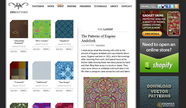 DinPattern – Free Seamless Patterns