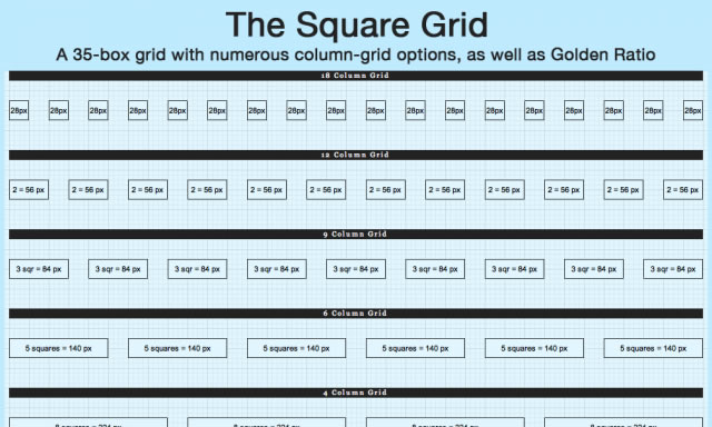 Square Grid Theme