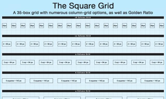 Square Grid Theme