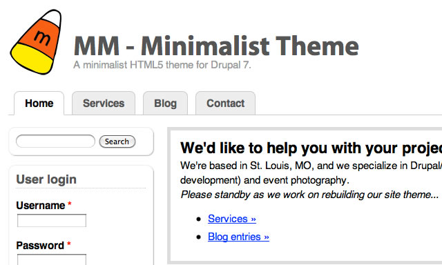 MM - Minimalist Theme