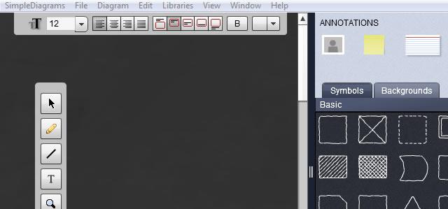 SimpleDiagrams Adobe Air App