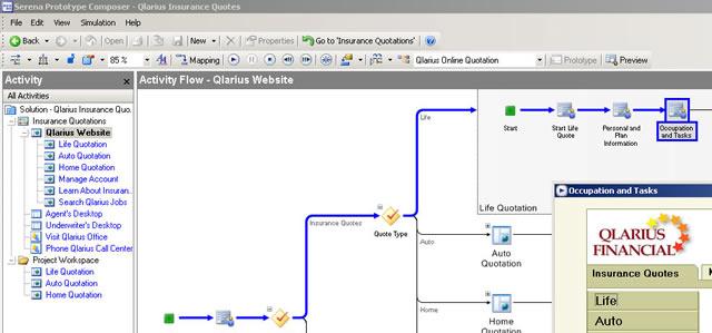 Software Prototyping - Serena Software