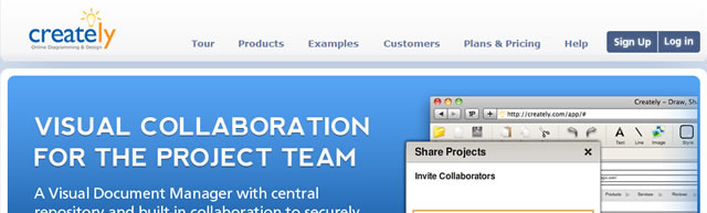 Creately - Collaborative Online Diagram Software